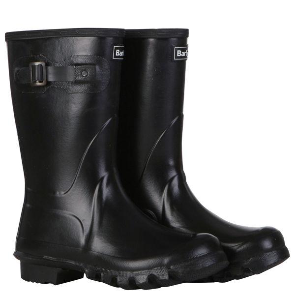 Barbour Women's Cropped Wellington Boots - Black