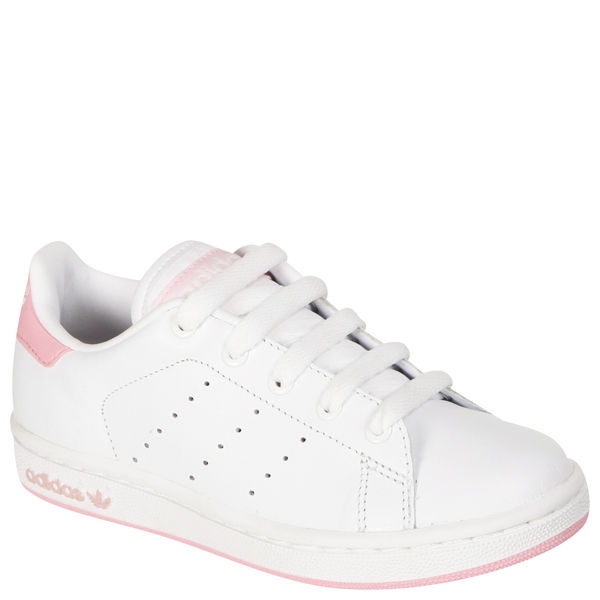 Exceptionnel adidas Kids Stan Smith Trainers - White/Pink Sports & Leisure  IZ69