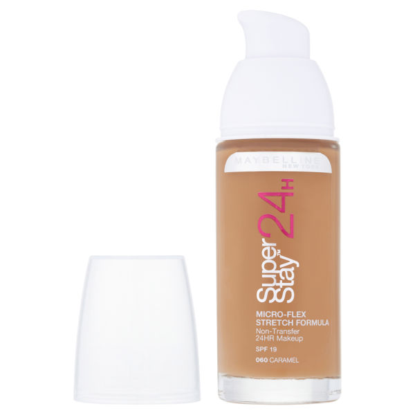 Maybelline New York Super Stay 24 Hour Foundation - Caramel 060 ...