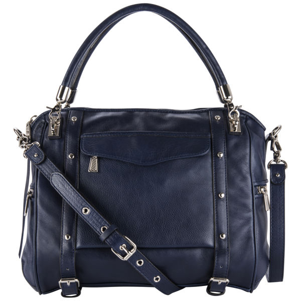 Rebecca Minkoff Cupid Leather Grab Bag - Sapphire
