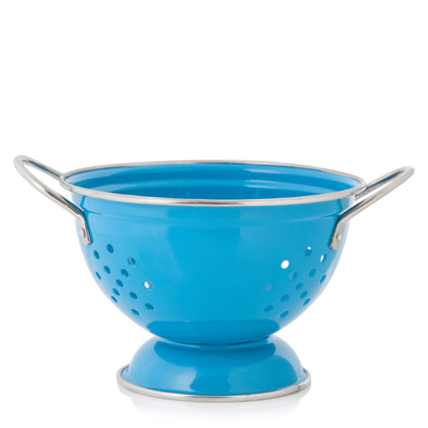 Küchensieb Klein ~ kleines küchensieb von cook in colour, blau sowia