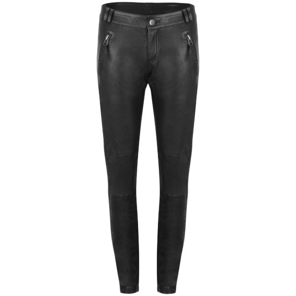 Gestuz Women's ADA Leather Pants - Black