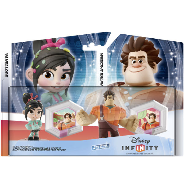 Disney Infinity Wreck It Ralph Toy Box Set Games Zavvi