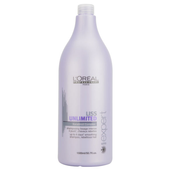 L'Oreal Professionnel Série Expert Liss Unlimited Force 2 Shampoo (1500ml)