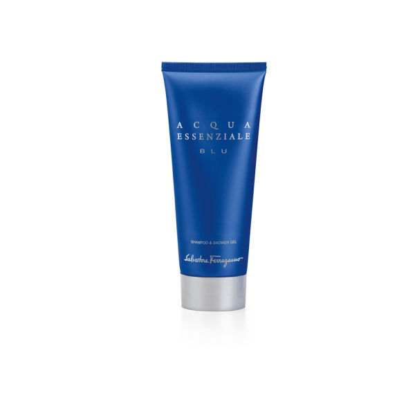 Salvatore Ferragamo Acqua Essenziale Blue Shampoo Shower Gel 200ml