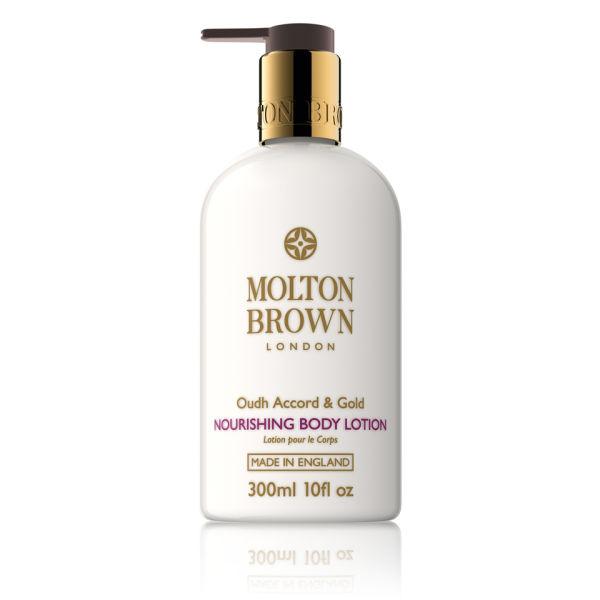 Loción corporal Molton Brown Oudh Accord & Gold