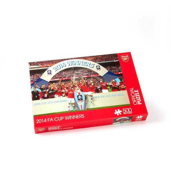 Paul Lamond Games Arsenal 2014 FA Cup Winners Puzzle