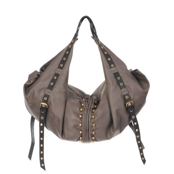 Mischa Barton Alicia Eyelet Detail Slouchy Hobo Bag Womens ... 1eb7a24e137c9