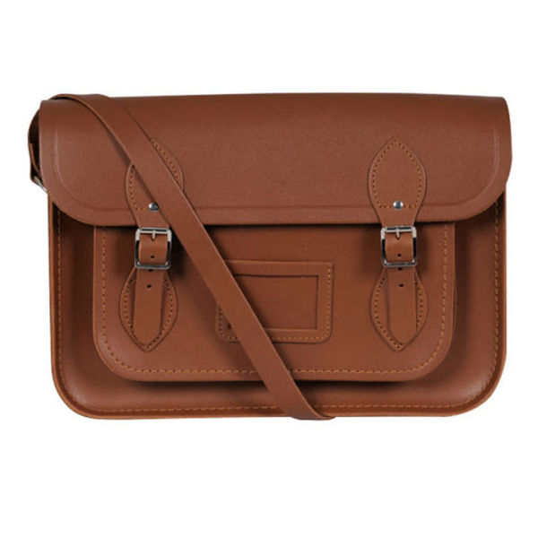 The Cambridge Satchel Company 13 Inch Classic Leather Satchel - Vintage Tan