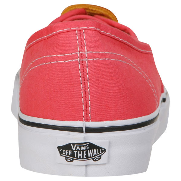 996823b813 Vans Authentic Brushed Twill Trainer - Salmon True White  Image 5