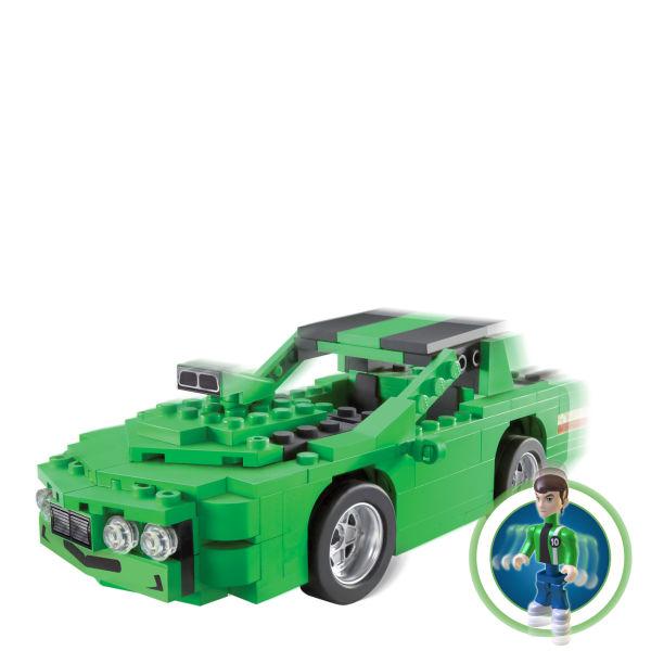 Character Building Ben 10 Kevins Car Construction Set Toys