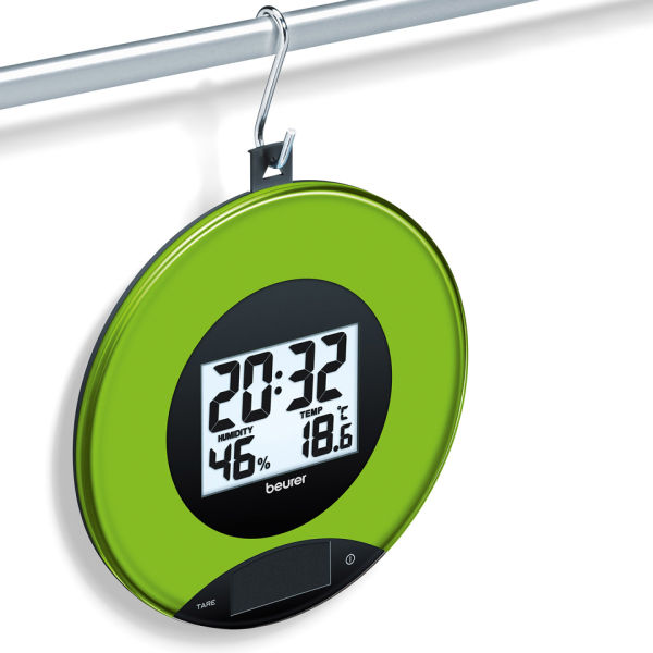 Kitchen Scales And Wall Clock Apple Iwoot