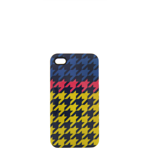House of Holland Women's iPhone 4 Case - Yellow Houndstooth