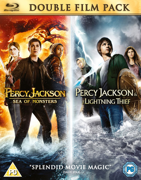 Percy Jackson Lightning Thief Sea Of Monsters Includes