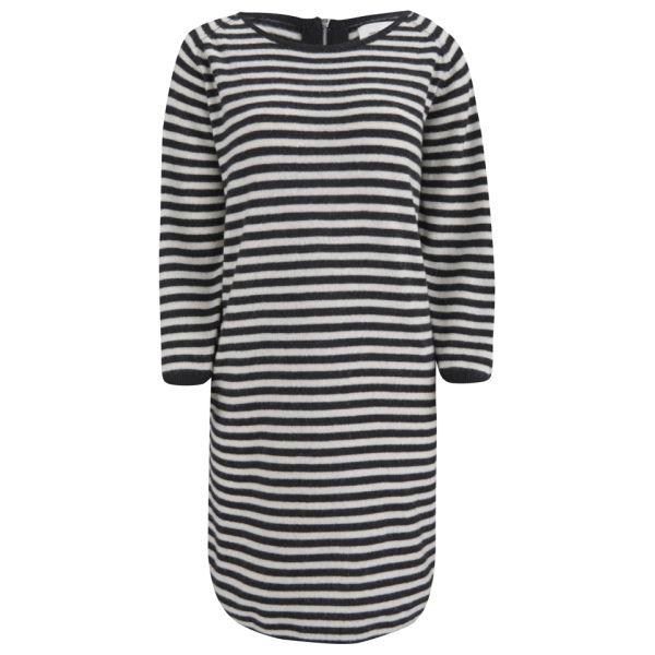 Wood Wood Women's Lis Dress - Black Stripe
