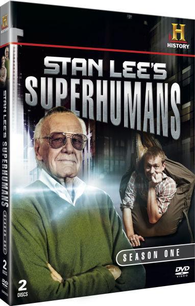 Stan Lee's Superhumans - Season 1 DVD | Zavvi