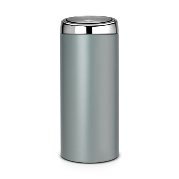 brabantia 30 litre touch bin metallic mint homeware. Black Bedroom Furniture Sets. Home Design Ideas
