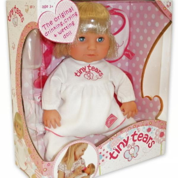 Toys And Tears : Tiny tears classic doll iwoot