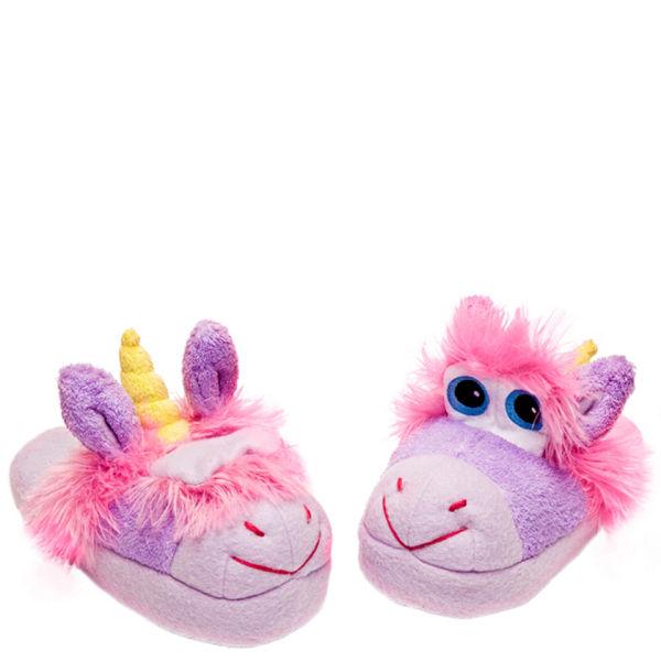 stompeez unusual unicorn slippers iwoot. Black Bedroom Furniture Sets. Home Design Ideas
