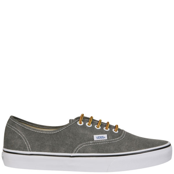 956704f485 Vans Authentic Washed Denim Trainers - Duffle Bag   True White  Image 1