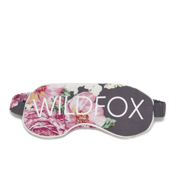 Wildfox Women's Austen Rose Sleep In Eye Mask - Navy