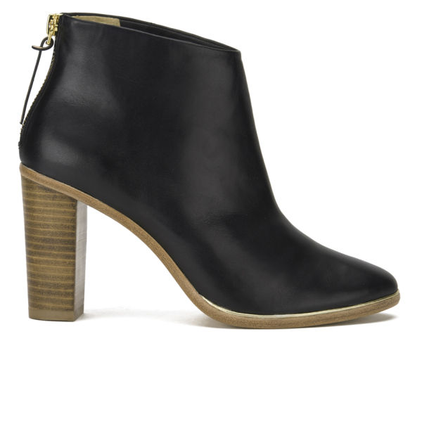 Ted Baker Women's Lorca Leather Heeled Ankle Boots - Black