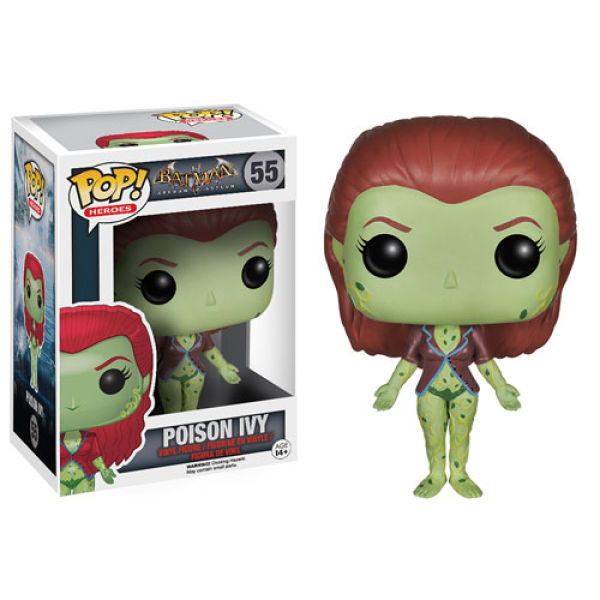 dc comics arkham asylum poison ivy funko pop figur merchandise. Black Bedroom Furniture Sets. Home Design Ideas