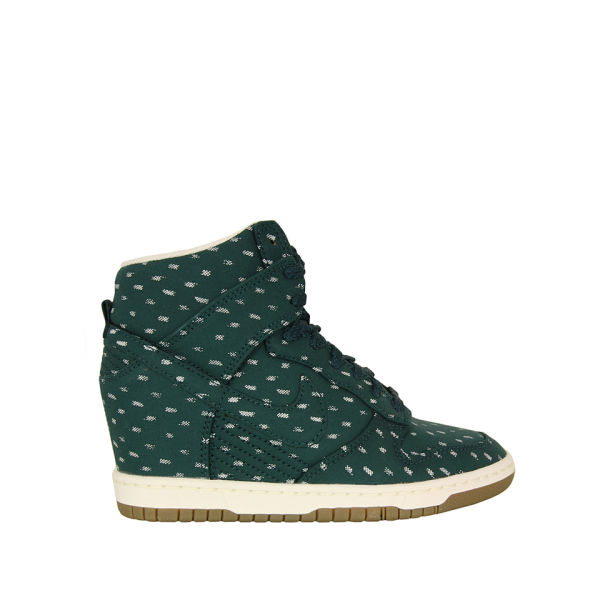 Nike Women's Dunk Sky Hi Dark Atomic Trainers - Green