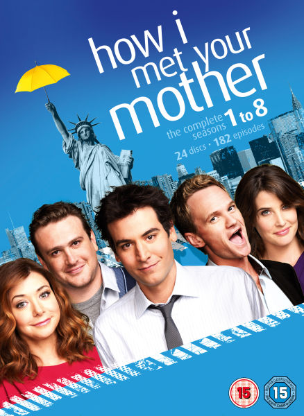 How I Met Your Mother - Seasons 1-8 DVD | Zavvi.com