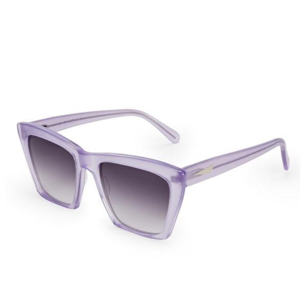 Prism Sydney Sunglasses  prism women s sydney wayfarer sunglasses lilac free uk