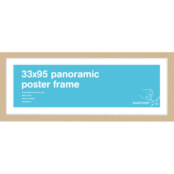 Oak Frame Panoramic - 33 x 95cm