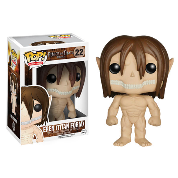 Attack on Titan Eren Jaeger Titan Form Pop! Vinyl Figure