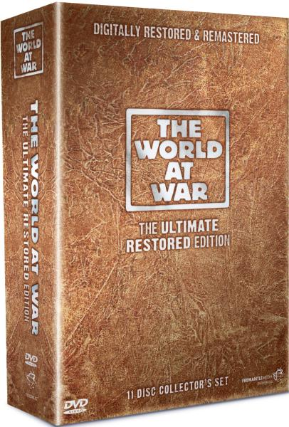 The World At War The Ultimate Restored Edition Dvd Zavvi