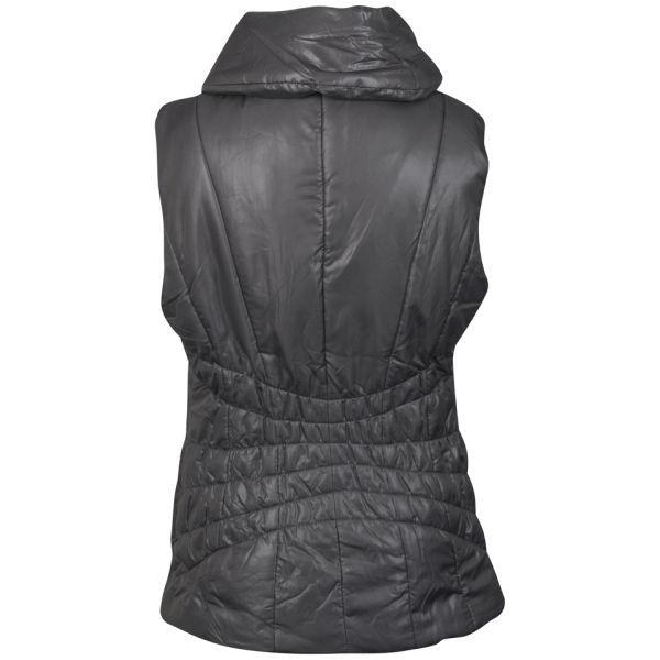 4f19b21c16ff2 VILA Women s Virginia Quilted Gilet - Grey Womens Clothing   TheHut.com