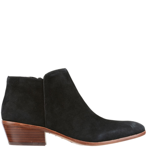 Sam Edelman Women's Petty Suede Ankle Boots - Black - FREE UK Delivery