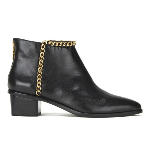 Kat Maconie Women's Tasmin Chain Detail Heeled Ankle Boots - Black