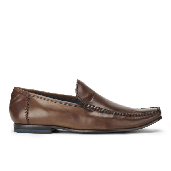 Ted Baker Men's Bly 6 Leather Slip On Shoes - Brown: Image 1