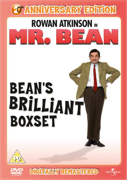 Mr. Bean: Series 1, Volumes 1-4 - 20th Anniversary Edition