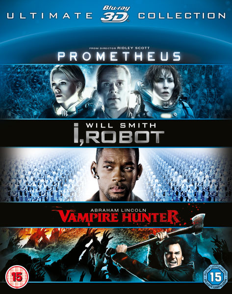Prometheus / I Robot / Abraham Lincoln 3D Collection