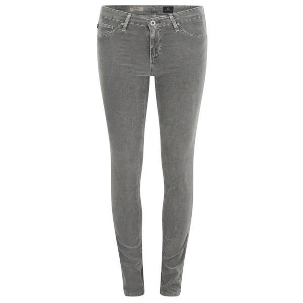 AG Jeans Women's Babycord Leggings - Grey