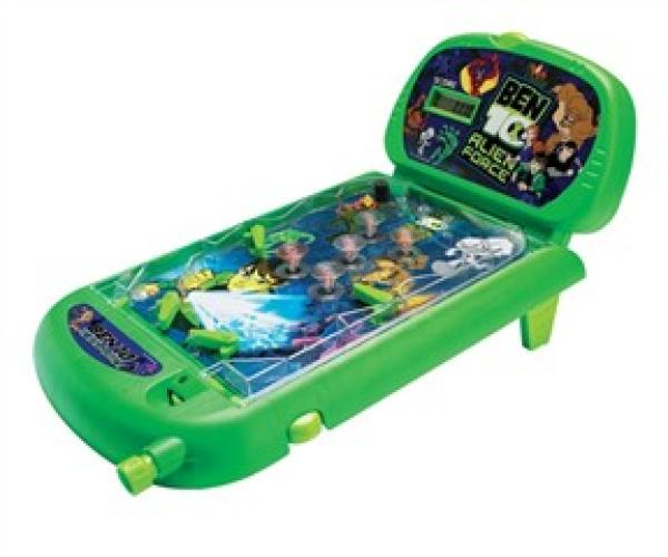 Ben 10 Table Top Pinball Machine Toys Zavvi Com