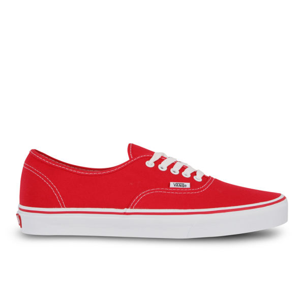 vans authentic canvas sneaker rot bekleidung. Black Bedroom Furniture Sets. Home Design Ideas