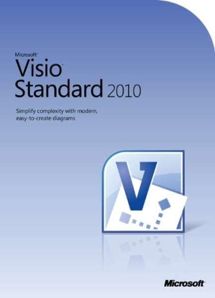 microsoft visio standard 2010 computing zavvi. Black Bedroom Furniture Sets. Home Design Ideas