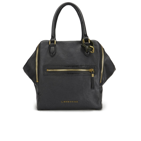 Liebeskind Women's Peaches Leather Wing Tote Bag - Black