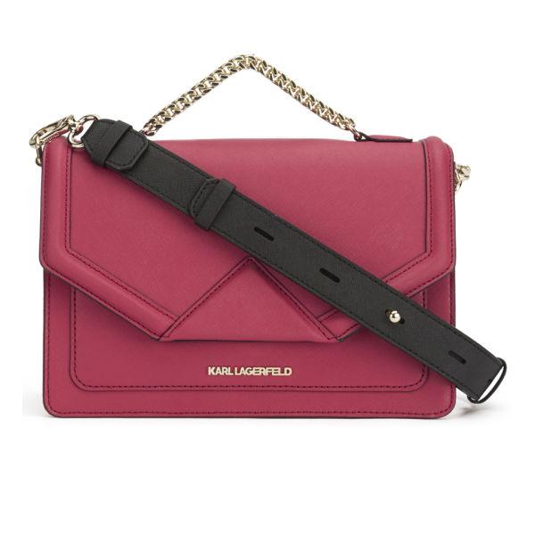 Klassik flap tote - Pink & Purple Karl Lagerfeld 6TsNRDHl6e