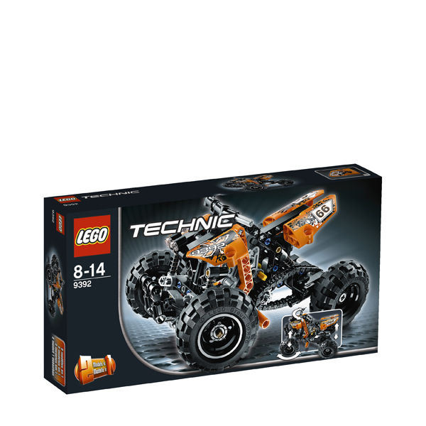 Lego Technic Quad Bike 9392 Toys Thehut Com
