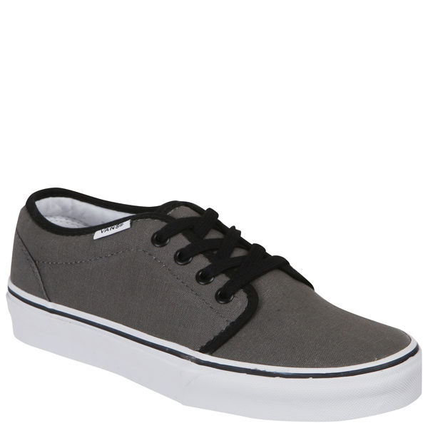 b353cd7f24 Vans 106 Vulcanized Canvas Trainers - Pewter Black  Image 1