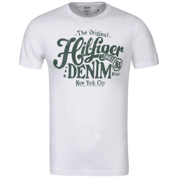 tommy hilfiger men 39 s federer t shirt classic white. Black Bedroom Furniture Sets. Home Design Ideas