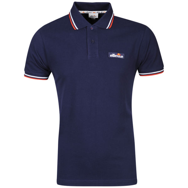 4d054db8fcf Ellesse Men s Challenge Tipped Polo Shirt - Navy Sports   Leisure ...