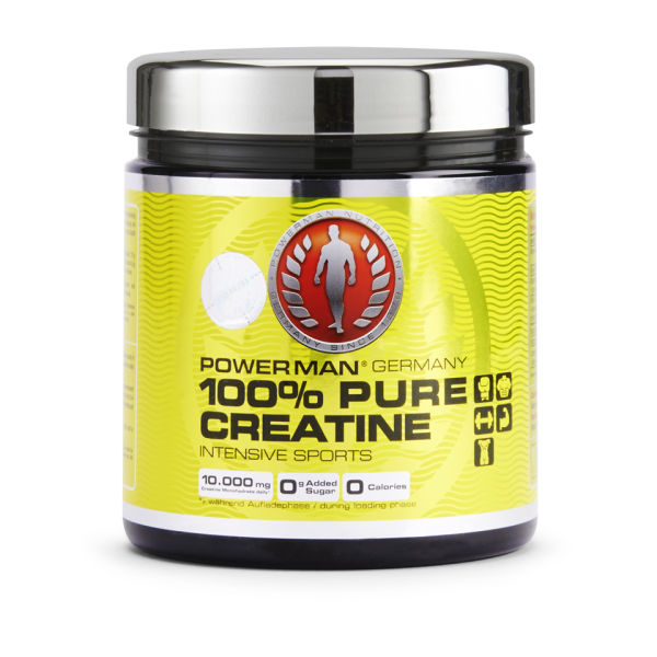 Powerman 100% Pure Creatine Powder